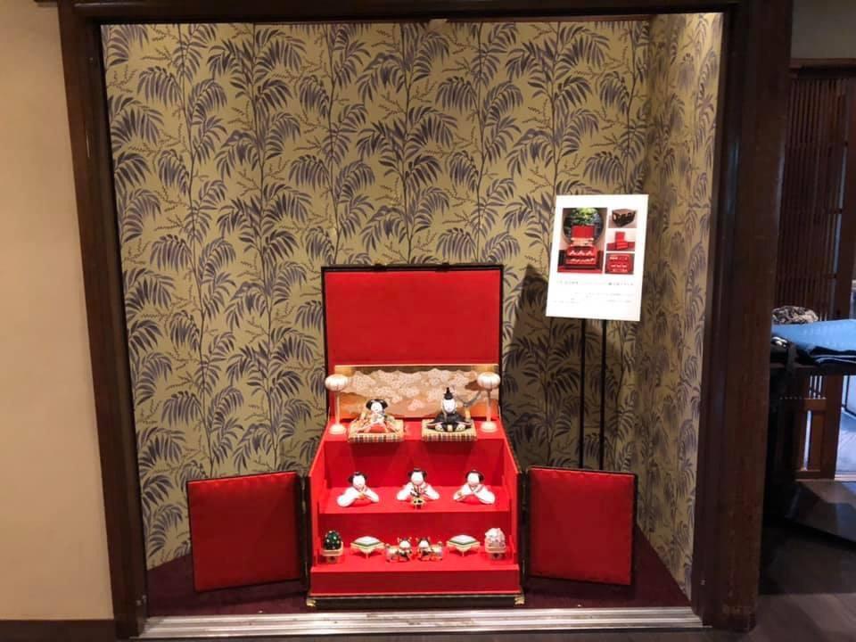 五世 島田耕園とLouis Vuittonがコロボしたスペシャルオーダー雛人形トランク